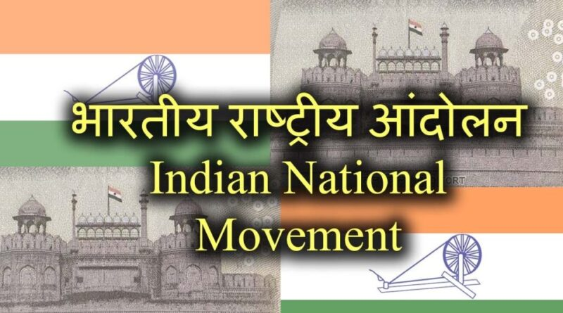 Indian National Movement