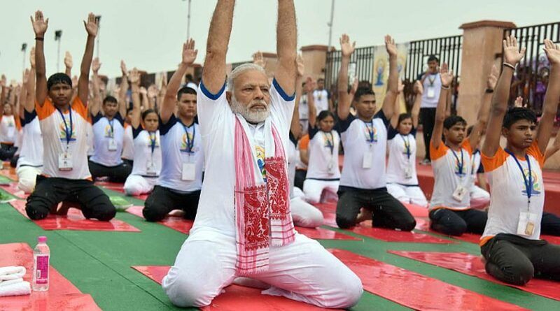Yoga has become a ray of hope when world fights Covid-19, says PM Modi